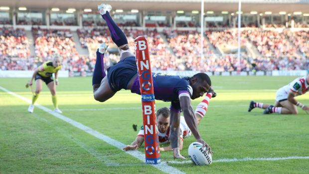 Prolific: Suliasi Vunivalu has maintained his incredible try scoring this season.