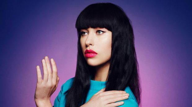 Kimbra is performing at the Supersense festival.