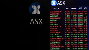The ASX is lower year-to-date.