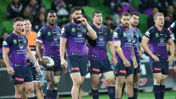 Penalty rate: The Melbourne Storm are the most penalised team in the NRL.