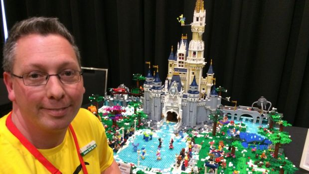 Isabella Plains banker Jacob Krog can't help but like Lego - he grew up in Denmark, the land of Lego. His Disney ...