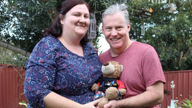 Julie and Shane McNamara have suffered multiple miscarriages, but they still have hope they will one day have a baby.