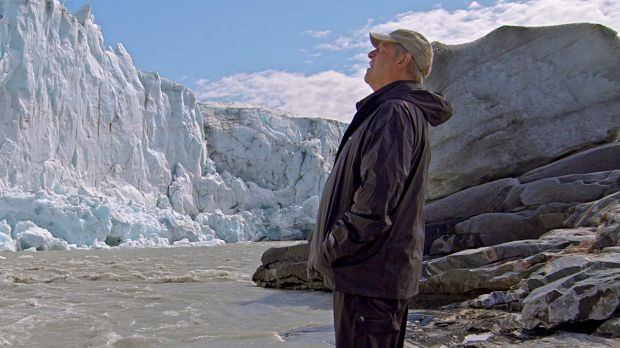 Al Gore in Greenland as seen in An Inconvenient Sequel: Truth To Power.
