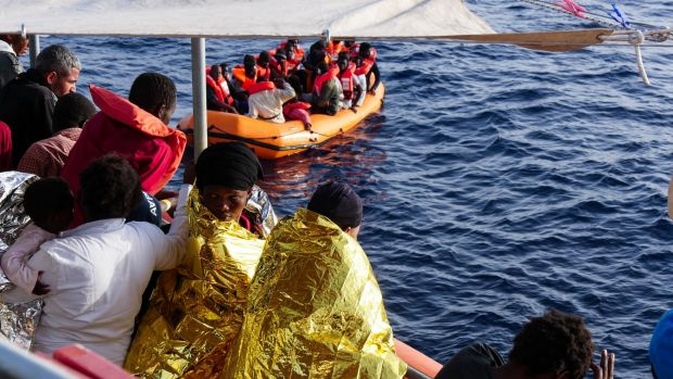 Migrants continue to take to the Med despite thousands of deaths.