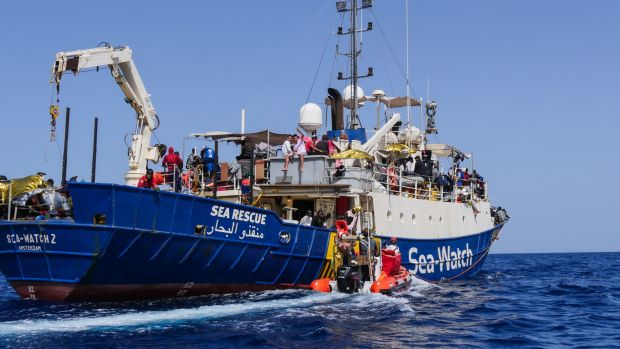 Dr Stefanie Pender undertook two rescue missions aboard the Sea-Watch.