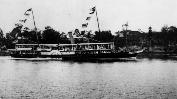 The Lucinda was sailed to the Hawkesbury River to be used as a secluded place to help draft the Constitution.