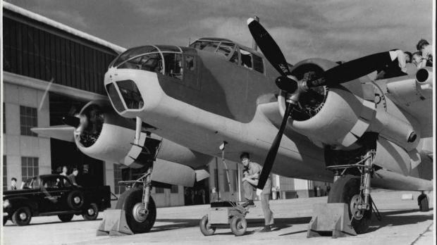 Bristol Bombers were built in Australia from 1941.