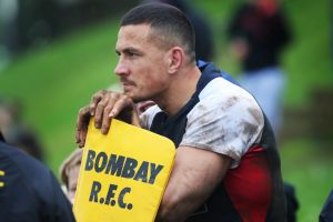 """""""It was a misjudgement, I got the tackle wrong"""": Sonny Bill Williams."""