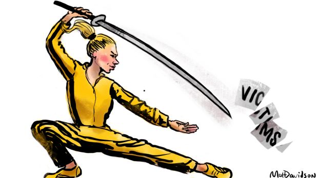 Some women might find martial arts lessons more useful than helplines when confronted with sexual predators. ...