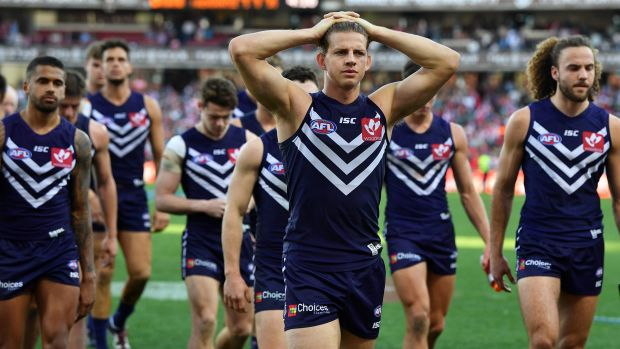 It was a dispiriting day for the Dockers at the SCG.