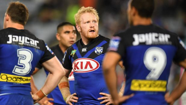 Crossing the Tasman? James Graham is in the New Zealand Warriors' sites if a Bulldogs firesale does eventuate.