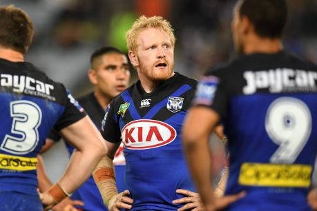 Shopped around: The Bulldogs are believed to be willing to listen to offers for most of their players, including James ...