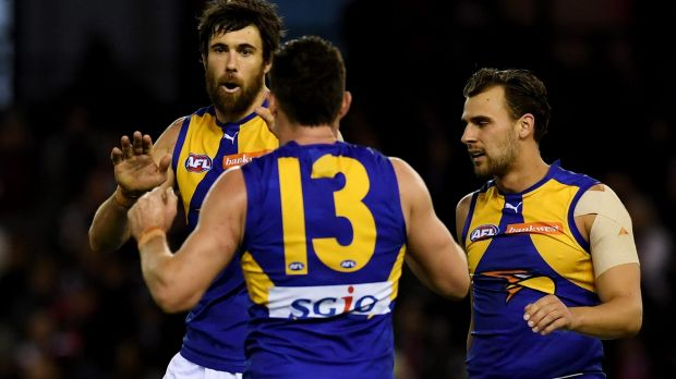 Josh Kennedy has kicked West Coast to victory several times this season.