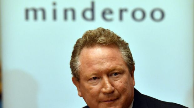 Andrew Forrest of Fortescue.