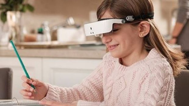 eSight glasses are only available across the other side of the world, and cannot simply be posted in the mail.