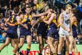 The Eagles kept their finals hopes alive with a win over the Blues.