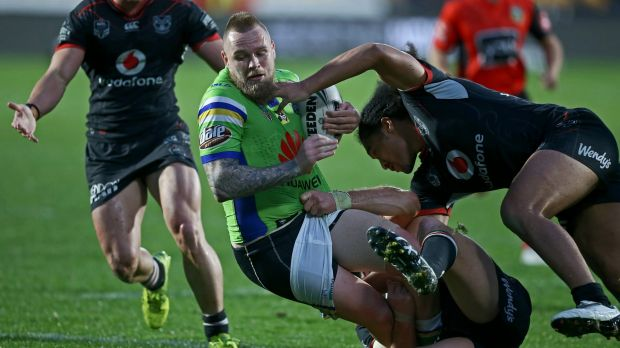 Is Canberra five-eighth Blake Austin back to his blistering best?