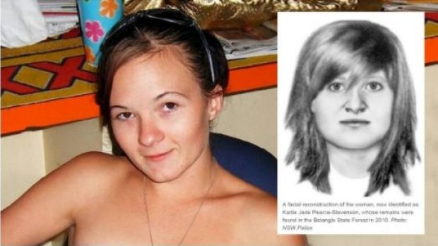 Dr Hayes' facial reconstruction (inset) of 'Angel' whose skeletal remains were found in 2010; she was identifed as ...