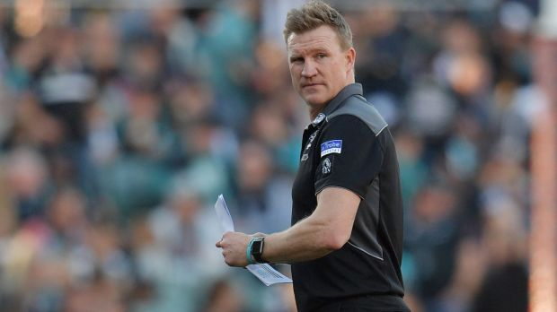 Buck up your ideas: Collingwood coach fumes over media reports relating to the future of his role as coach of Collingwood.