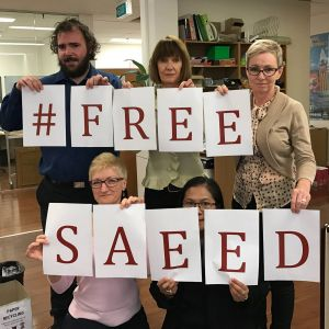 Groups have protested over the deportation of Saeed for several months now.