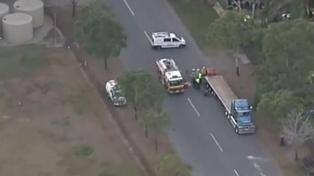 Mum and son stabbing could be linked to Wacol fatal crash