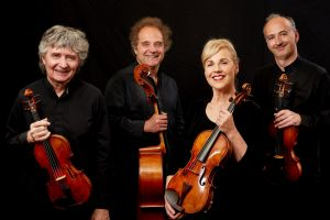 The performance of the Takacs Quartet delivered intellectual focus and energy.