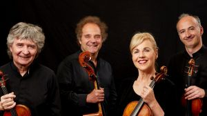 Refined and sensitive: The Takacs Quartet delivered a characteristic performance.