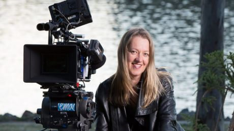 "TV director, Kate Dennis: ""I was lucky to arrive in Hollywood when they're trying to give women more work,"" she says."