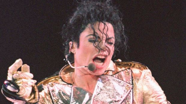 Michael Jackson during the Singapore stop of his HIStory tour in October 1996.