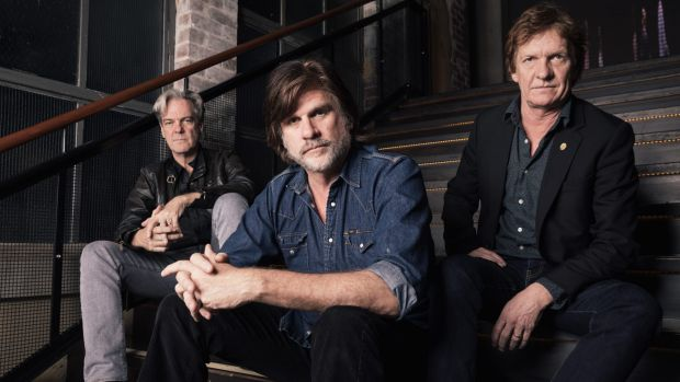 Don Walker, Tex Perkins and Charlie Owen