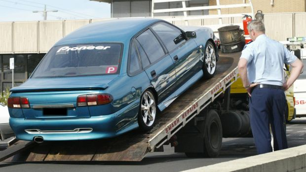There has been a decrease in the number of cars being impounded by Queensland police.