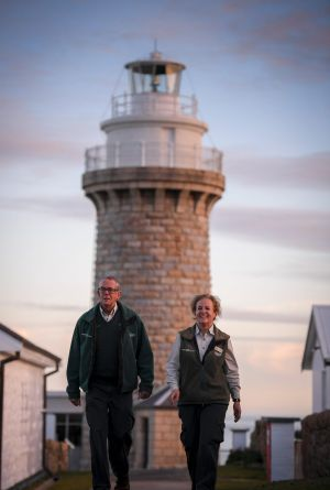 "Colin and Renata Musson say working at the lighthouse is an ""absolute privilege""."