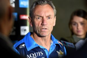 Going: Titans coach Neil Henry has been sacked by the club.