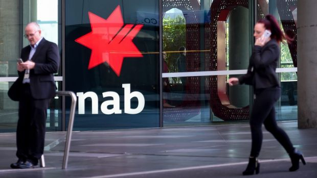 An outage on Wednesday afternoon affected online banking for customers of the National Australia Bank.