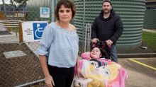 Chris Kotsopoulos and Julianne Bugeja with their daughter Alyssa who has suffers from Spinal Muscular Atrophy. Julianne ...