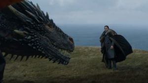 Jon Snow, aka Targaryen, was recognized by Drogon.
