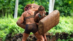 Australian Survivor features wrestling in mud and a lot of dirty dealing.