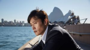 Byung-hun Lee in <i>A Single Rider</i>.