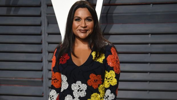 Mindy Kaling celebrates the arrival of her first child