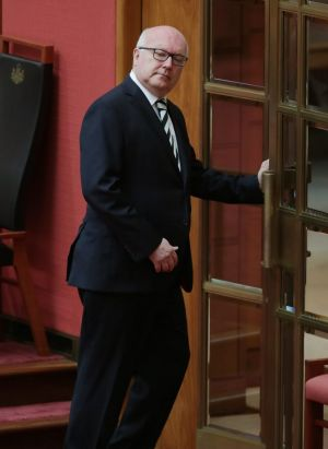 Attorney-General George Brandis says reform of the family law system has been on his radar for some time.