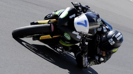Tom Toparis records fastest lap time at Warwick's raceway ahead of round five of the Australian Supersports championships.
