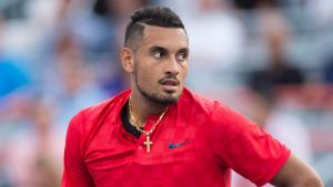 Nick Kyrgios was not selected for the world team at the Laver Cup.