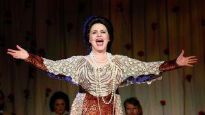 Showstopper: Emma Matthews as Dame Nellie Melba