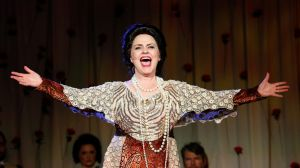 Showstopper: Emma Matthews as Dame Nellie Melba.