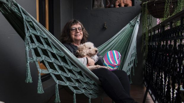 Airbnb landlord Lynne Segal said the home-sharing website helps her afford to stay in her Newtown terrace.