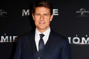 Tom Cruise was injured during the attempted stunt.