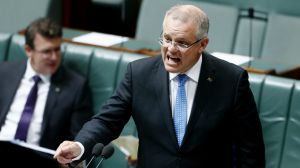 Mr Morrison introduced the Medicare levy to the parliament on Thursday.
