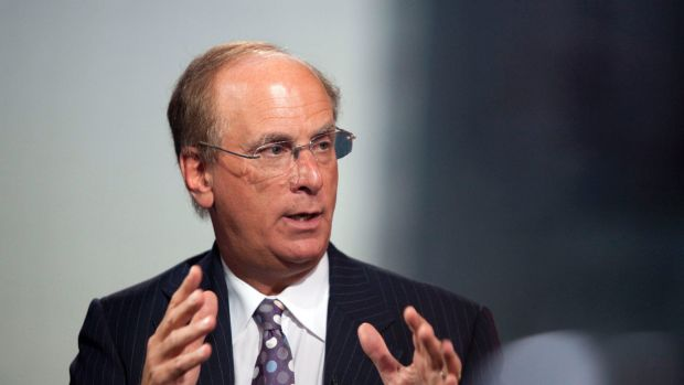 Laurence D. Fink, chairman, chief executive and co-founder of BlackRock.