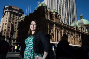 Julia Gilchrist was born deaf and had to apply for 200 jobs before she landed a stable job with long-term prospects.