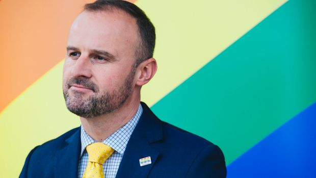 ACT Chief Minister Andrew Barr.